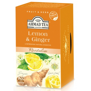 ahmad lemon ginger