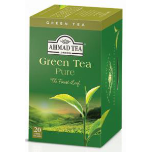 ahmad pure green tea