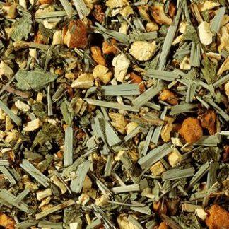 infusion de hierbas regaliz menta