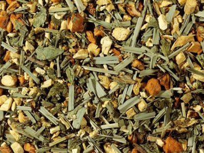Infusió d'herbes regalèssia i menta